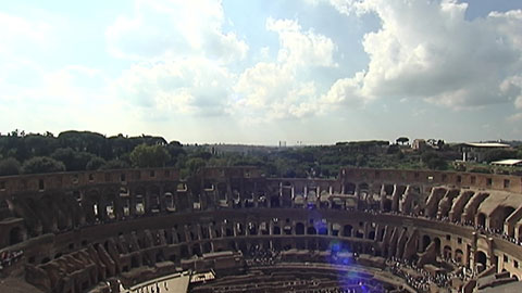 Reabre el gallinero del Coliseo cerrado desde hace 40 años por problemas de seguridad