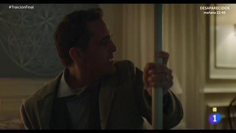 Traición - La reacción de Roberto Fuentes tras saber que Isabel mató a su padre