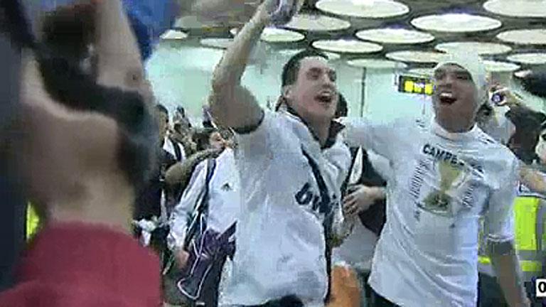 El Real Madrid llega a la capital como campeón de Liga