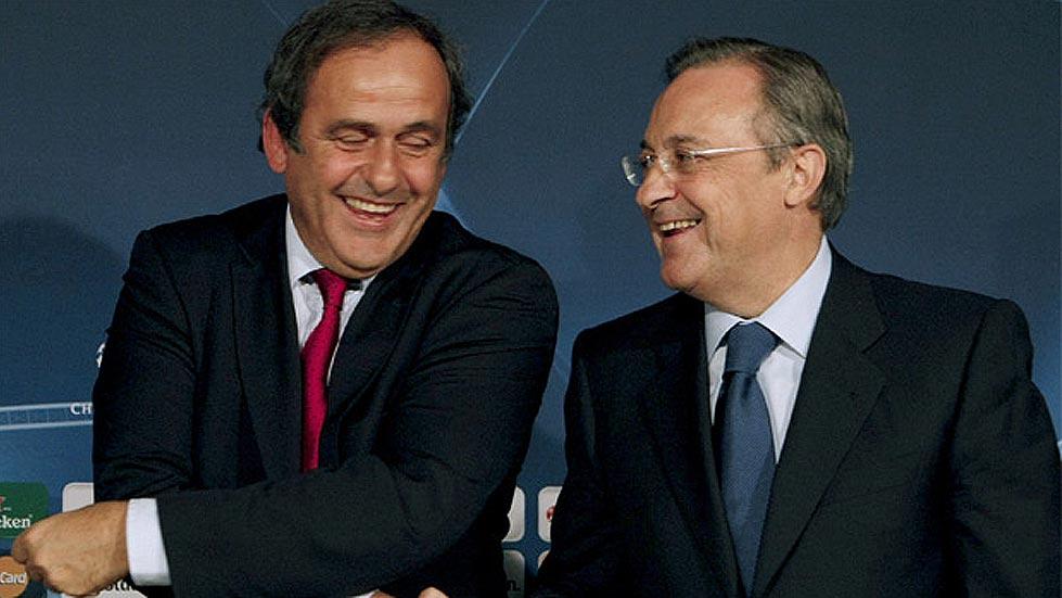 "El Real Madrid pide ""neutralidad"" a Platini"