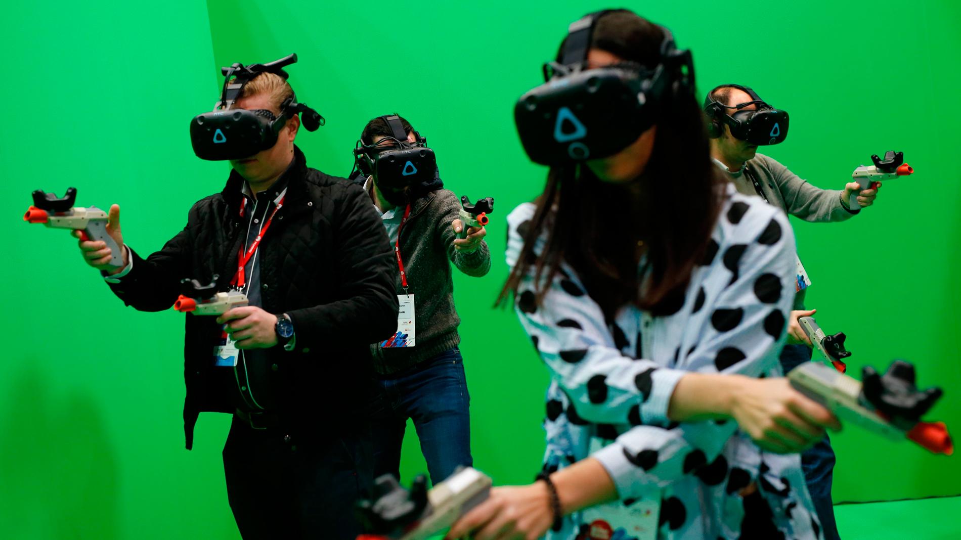 La realidad virtual toma el Mobile World Congress