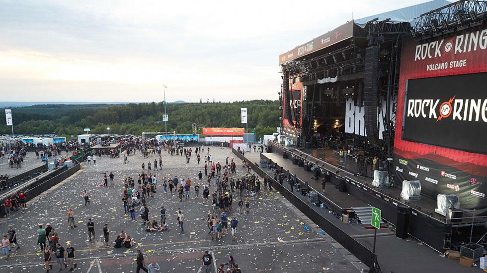 Reanudan el festival de rock suspendido por una alarma terrorista en Nürburg