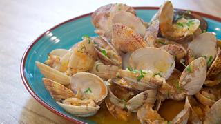 Torres en la cocina - Receta de almejas a la marinera