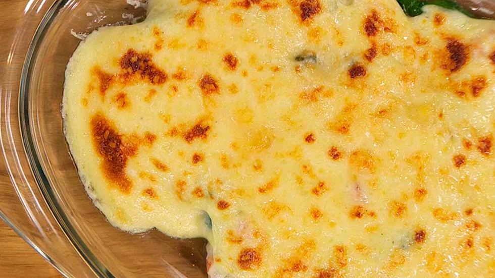 Torres en la cocina - Receta de espinacas gratinadas