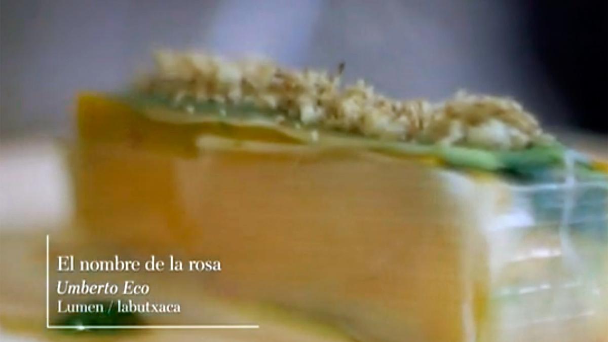 """Página Dos - Receta literaria extraída de """"El nombre de la rosa"""" de Umberto Eco"""