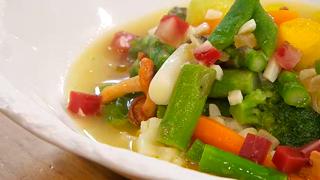 Torres en la cocina - Receta de menestra de verduras