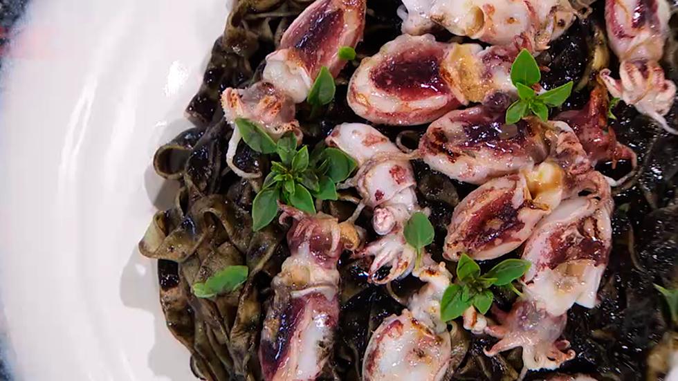 Torres en la cocina - Receta de pasta al nero di sepia