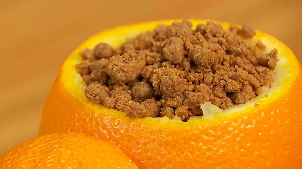 Torres en la cocina - Receta de plátano, naranja y migas de Gofio