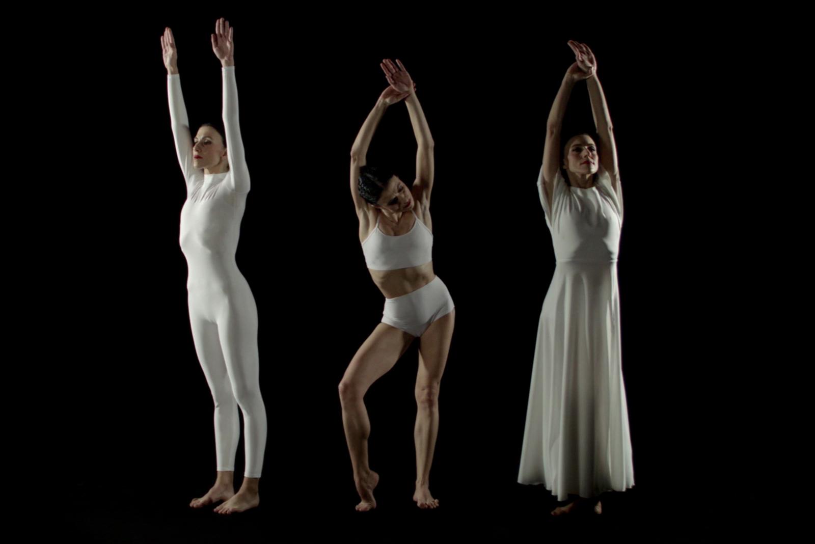 Recreación coreográfica de la técnica de la caída de Doris Humphrey ©FundacionTelefonica