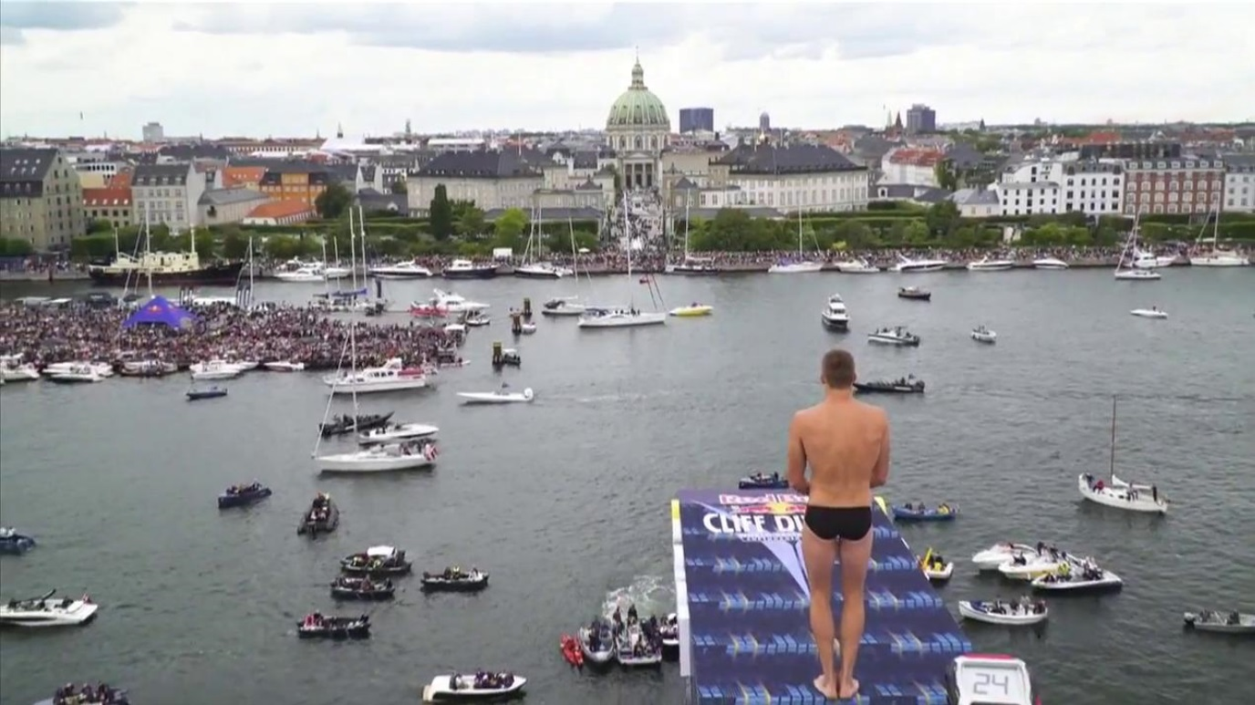 Saltos de acantilados - Red Bull Cliff Diving World Series 2018 Prueba Copenhague