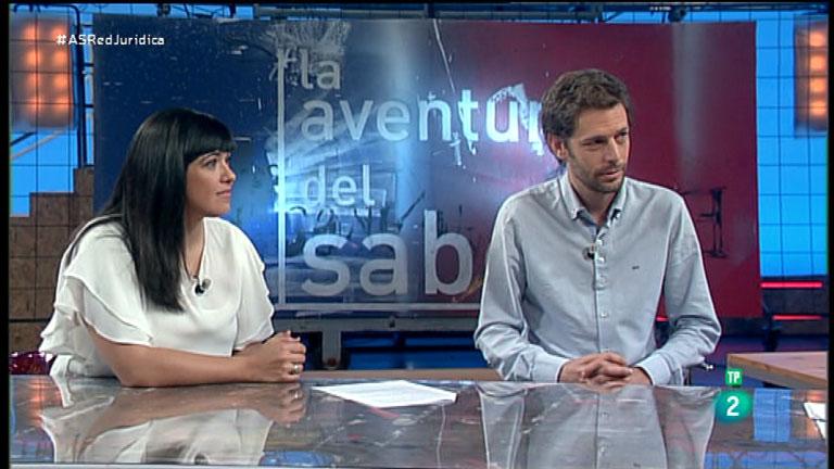 La Aventura del Saber Red Jurídica Entrevista Marta Herrero y  Juan Rubiño