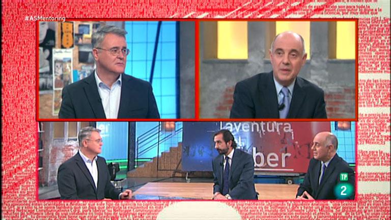 La Aventura del Saber. Taller de empresa. Julio Rodríguez y Arturo de las Heras. Red Mentoring de España.