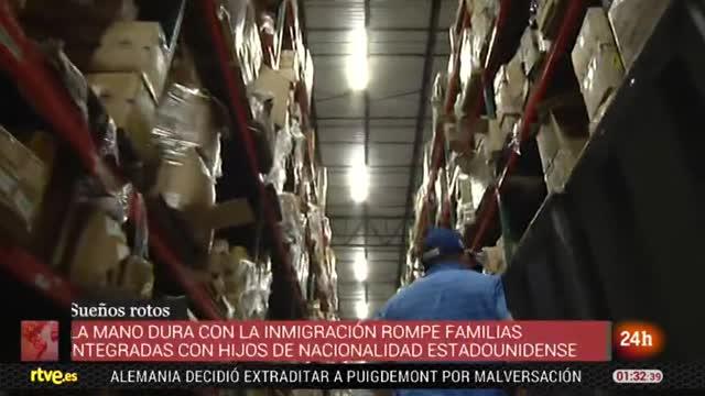 Las redadas contra inmigrantes rompen el sueño americano