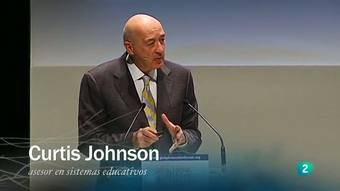 Ver vídeo  'Redes - entrevista a Curtis Johnson, asesor educativo'