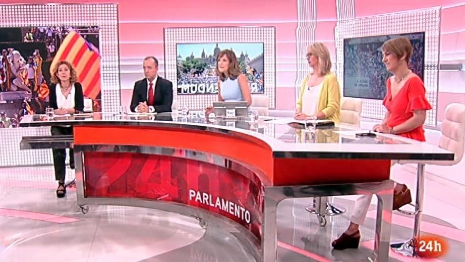 Parlamento - El debate - El referendum de Cataluña - 24/06/2017