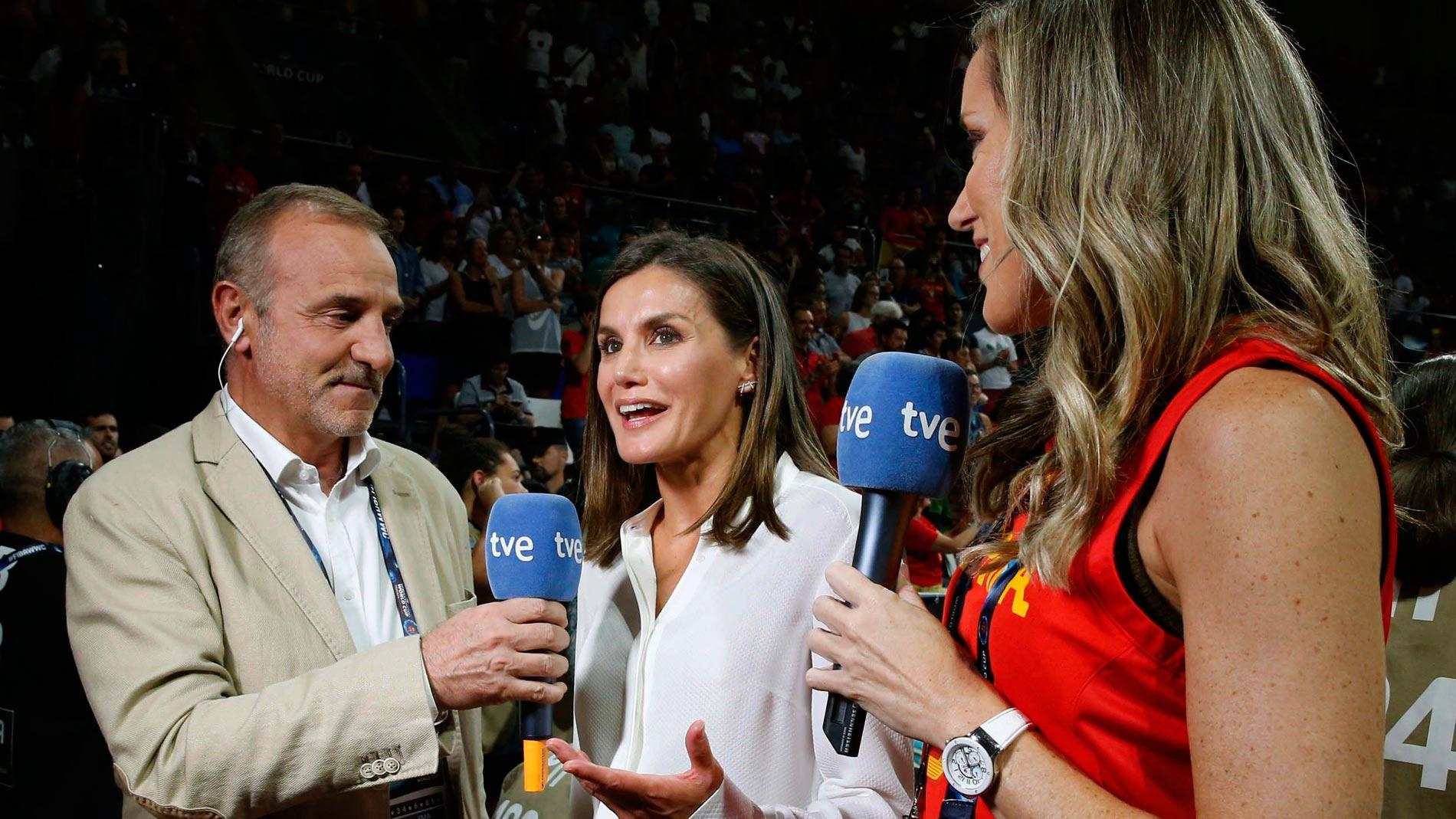 """Reina Letizia: """"Otra alegría más para deporte femenino español"""""""