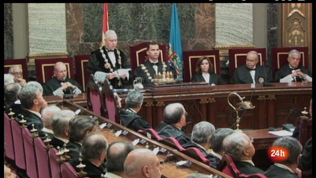 Parlamento - Relevo en el poder judicial - 23/06/12