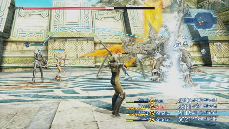La remasterización incluye mejoras en la batalla.