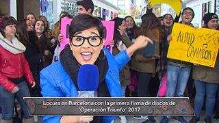 REPOR   Alejandra no se perdió la firma de discos de 'OT 2017' ¡El fenómeno OT ha vuelto!