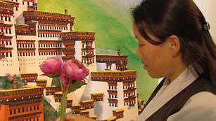 Represión de los monjes tibetanos