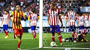 Resumen del partido de ida de la Supercopa de España F.C. Barcelona - Atlético de Madrid