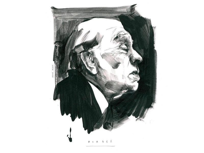 Retrato de Borges