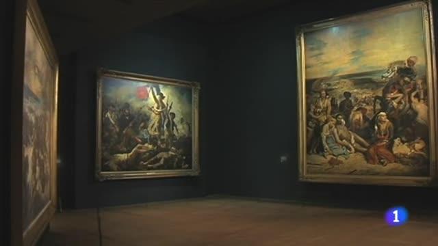 La retrospectiva de Delacroix, una de las exposiciones de la temporada en Paris