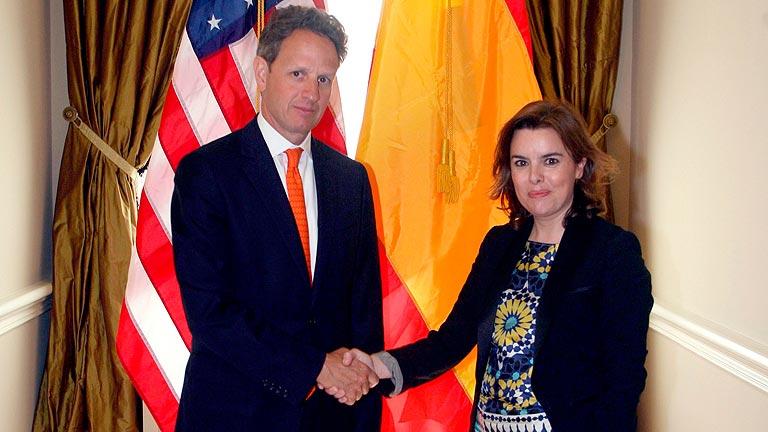 EE.UU. apoya la inyección de fondos europeos a los bancos y el FMI descarta el rescate a España