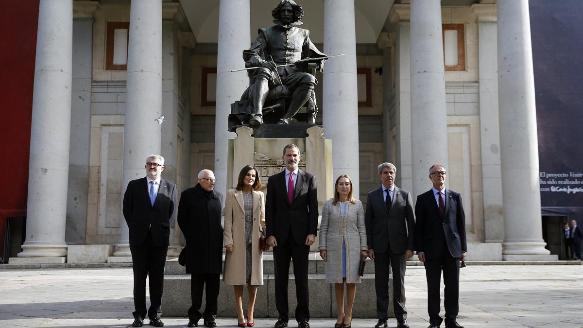 """El rey destaca la """"dimensión universal"""" y """"el legado cultural"""" del Museo del Prado"""