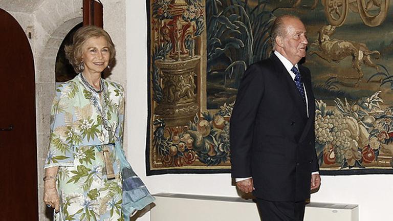 El Rey Juan Carlos ya está en Palma de Mallorca