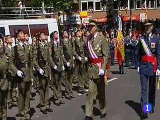 El Rey reaparece en el Día de las Fuerzas Armadas