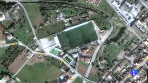 La riada asola el campo del Club Deportivo Cardassá