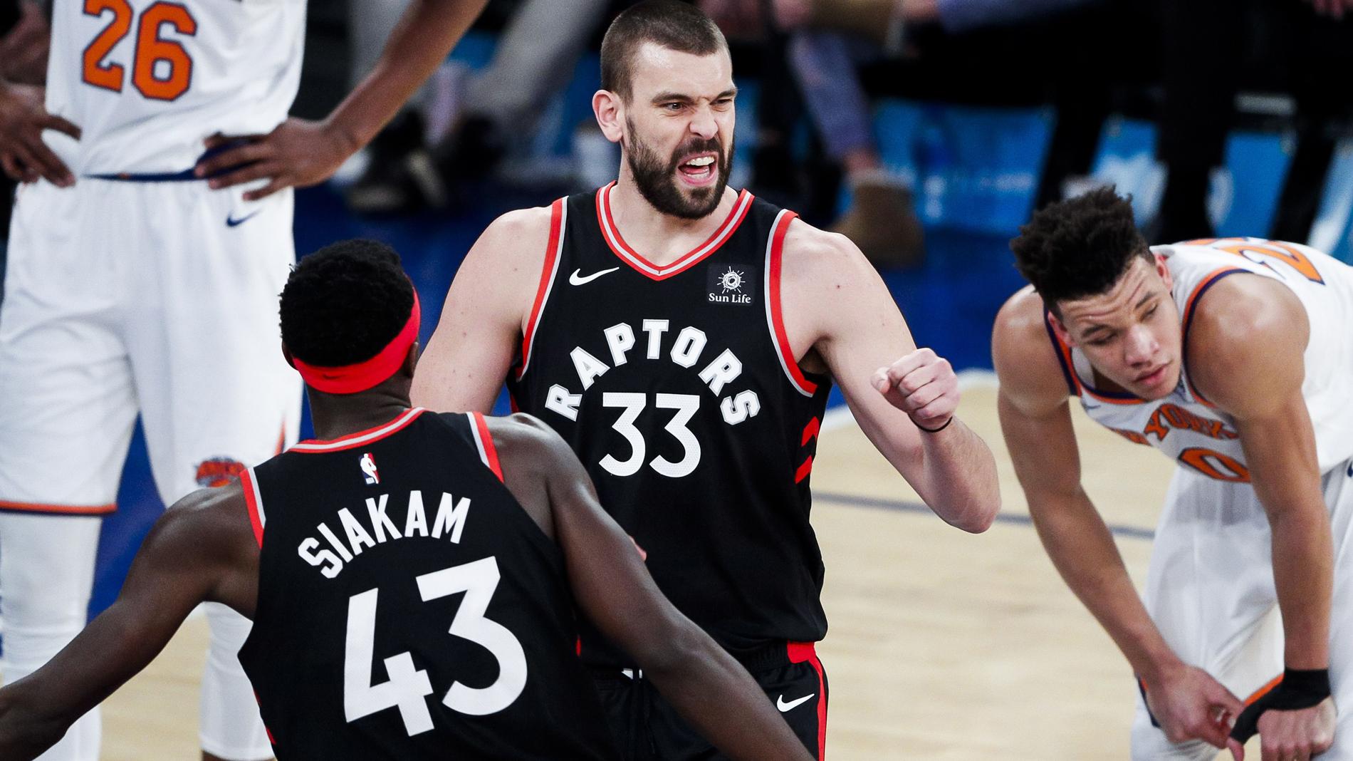 Ricky le gana el duelo a Pau y Marc debuta con los Raptors
