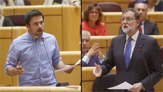 Rifirrafe entre Ramón Espinar y Mariano Rajoy a costa de la corrupción