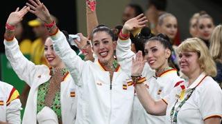 Río 2016. Gimnasia rítmica | España, plata por equipos