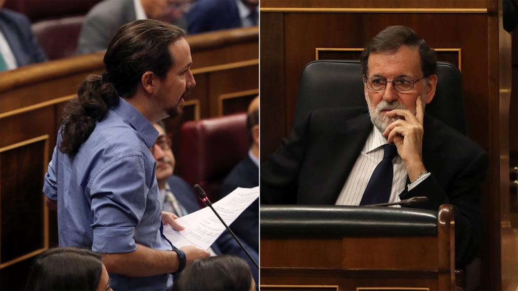 Rirrifafe entre Iglesias y Rajoy por la presunta financiación ilegal de sus partidos