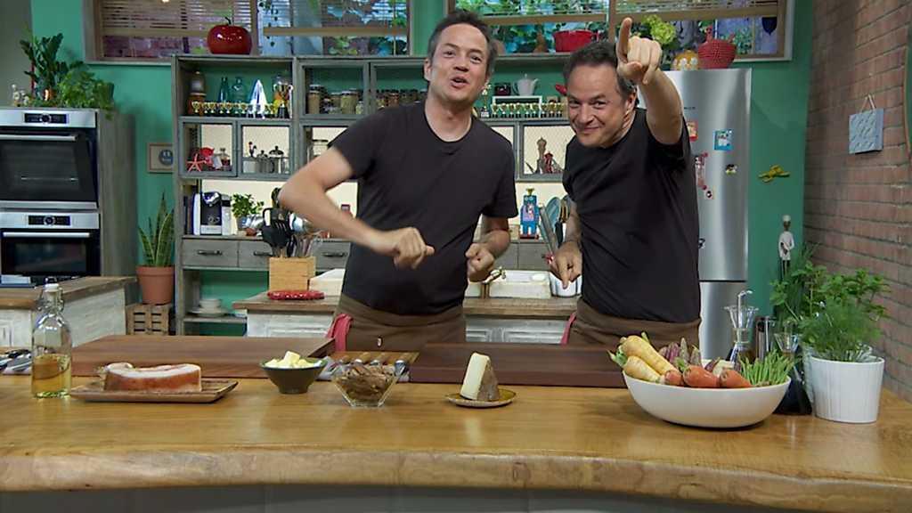Torres en la cocina - Risotto de verduras y melocotones al vino