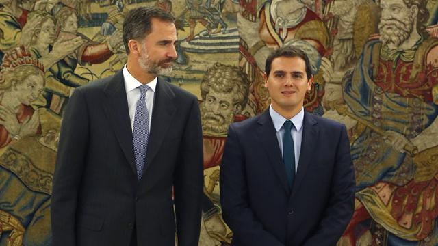 """Rivera cree que será una legislatura """"fructífera"""" si PP y PSOE se suman a acuerdos"""