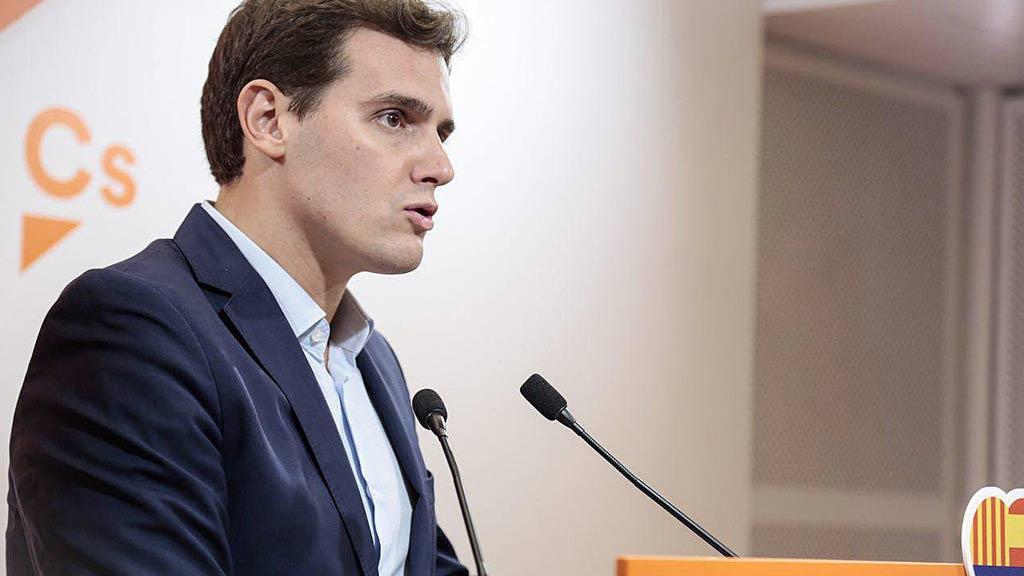 Rivera pedirá a Rajoy en la reunión que aplique el artículo 155 para convocar elecciones en Cataluña