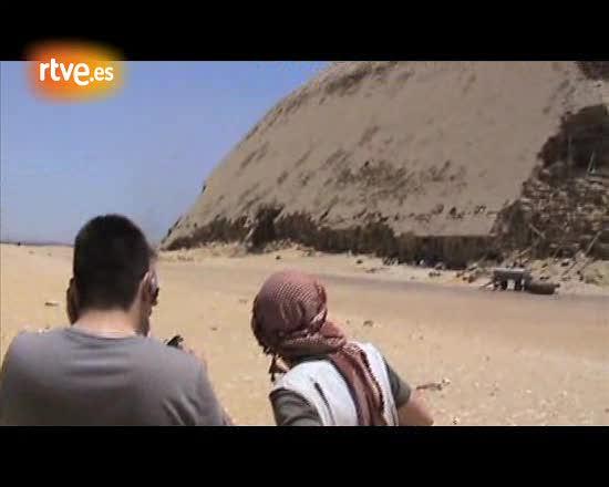 'Espacio en Blanco', en Egipto