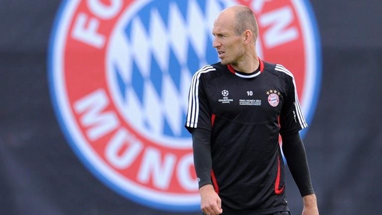 Robben, pieza clave del Bayern