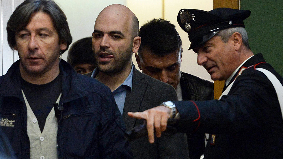 """Roberto Saviano sobre su juicio: """"No me basta, es como si la Camorra no existiese"""""""