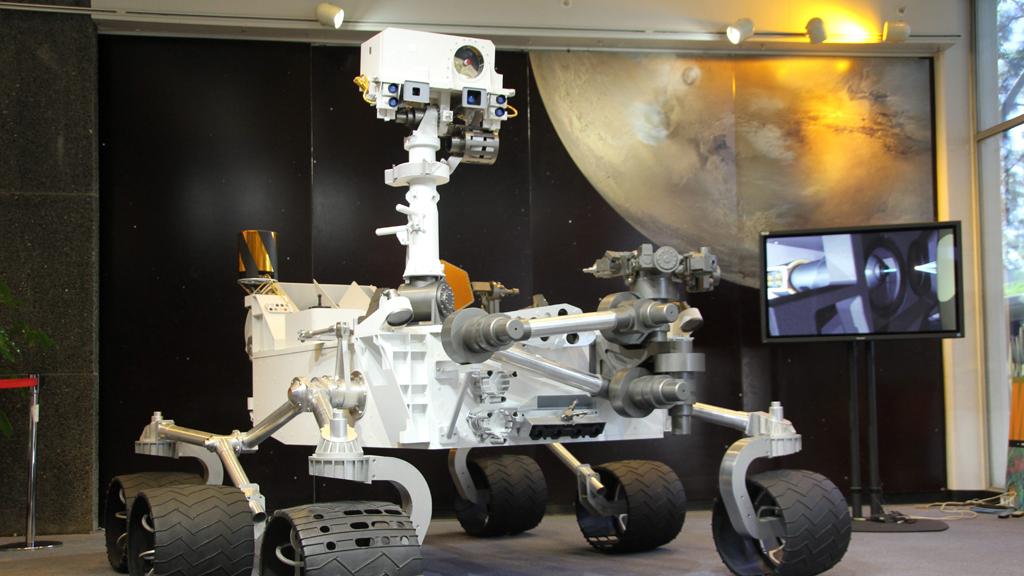El robot recorrió 482 millones de kilómetros hasta Marte