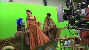 RTVE presenta el rodaje de la película 'Lunnis de Leyenda'