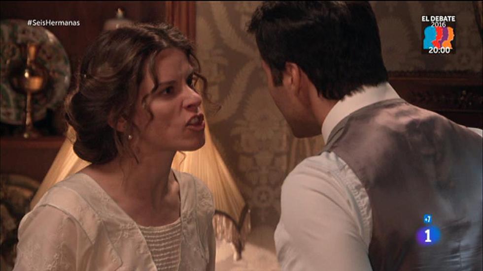 Seis Hermanas - Rodolfo le cuenta a Blanca todo lo que le debe a los alemanes