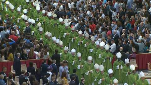 El Día del Señor - Roma: Clausura del Sínodo