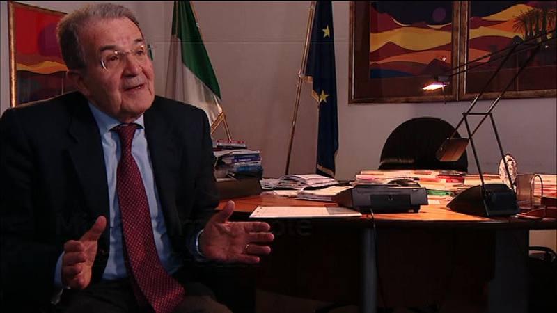 Romano Prodi en Informe Semanal