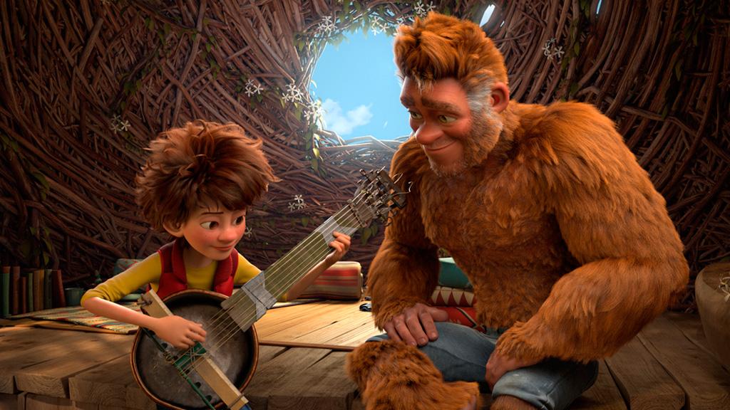 RTVE.es os ofrece un clip exclusivo de 'El hijo de Bigfoot'