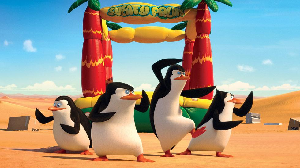 Rtve.es os ofrece, en primicia, una divertida secuencia de 'Los pingüinos de Madagascar'