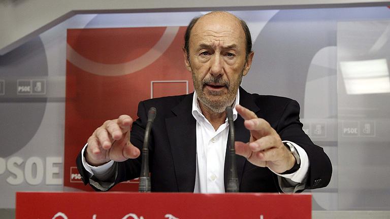 """Rubalcaba propone una reforma fiscal para que paguen más """"los que más tienen"""""""